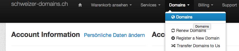 Eigene Domain domain mit wix com verbinden knowledgebase schweizer domains ch gmbh