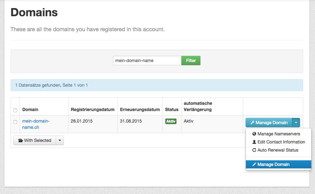 domain mit wix com verbinden knowledgebase schweizer domains ch gmbh